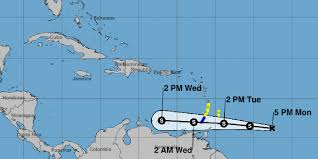 Hutchinson Island Florida Map by Tropical Storm Don Forms In Atlantic Takes Aim On Caribbean Islands