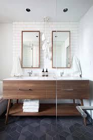 designer bathroom vanities best 25 mid century bathroom ideas on pinterest mid century