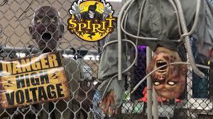 spirit halloween vip animatronic tour 2017 halloween costumes and