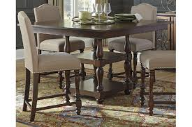Baxenburg Counter Height Dining Room Table Ashley Furniture - High dining room sets
