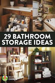 29 space efficient bathroom storage ideas that look beautiful