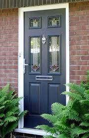 composite door glass new look double glazing composite doors