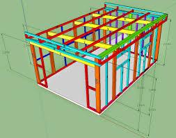 construire son chalet en bois oregistro com u003d plan d abri de jardin en bois gratuit idées de