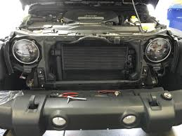 jeep lights on top how to install raxiom led headlights on your 2007 2016 jeep