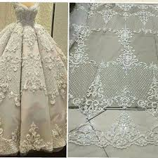 wedding dress fabric elegent tulle lace bridal lace fabric fashion wedding dress fabric