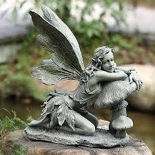 delphinia garden color statue ships separately fairies