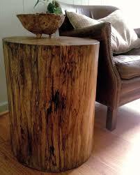 Tree Stump Side Table Tree Stump Side Table Je Woodwork