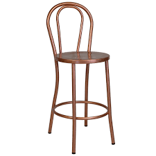 Cafe Bar Stools | french cafe bar stool in copper the khazana home austin furniture store