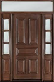 Custom Size Steel Exterior Doors Front Door With Sidelites Cheap Entry Doors Sidelights Exterior