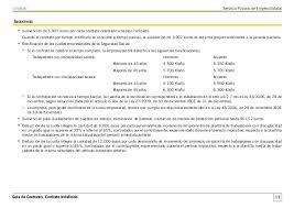 bonificaciones contratos 2016 guía de contratos del sepe actualizada