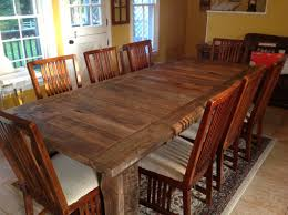 reclaimed wood table michigan unique farmhouse table barn wood