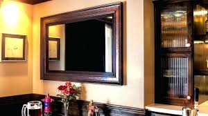 mirror cabinet tv cover mirror tv covers frame solutions diy mirror cabinet tv cover dibz co