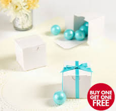 favor boxes white wedding favor boxes 100ct party city