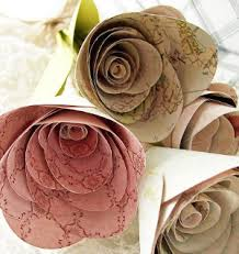 5 ways to make flowers from paper allfreeholidaycrafts com