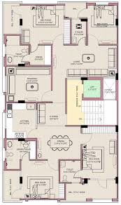 floor plan tirupati buildsquare pvt ltd eeti shubh at