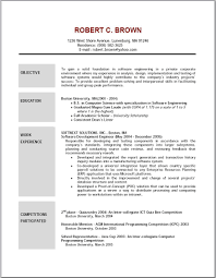 Resume Format Banking Jobs by Bank Job Resume Objective Resume For Your Job Application