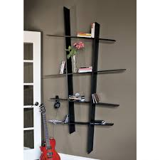 home design slanted wall built ins with hidden storage my