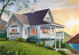 house plans with daylight basement cottage with loads of options 2105dr architectural designs