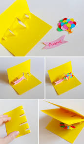 diy card an extremely easy way to make a pop up card of anything