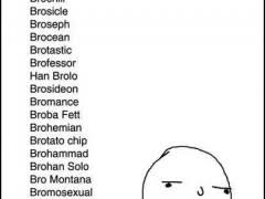 Meme Name List - bro name list weknowmemes