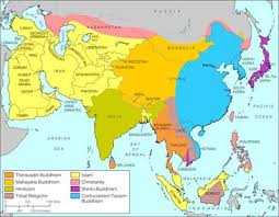 hinduism map maps and holy religions of the