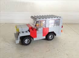 Lego Ideas Jurrassic World Jeep Staff Vehicle