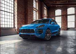 voodoo blue porsche porsche macan turbo exclusive performance edition ferdinand