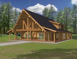 chalet log home plans