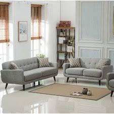 Modern Apartment Size Living Room Sets AllModern - Living room set