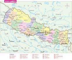 Nepal Map World by Nepal Map