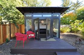 Backyard Cottage Ideas by 15 Compact Modern Studio Shed Designs For Your Backyard Artist
