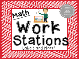 first grade critter cafe u0027 math work stations
