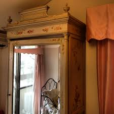 katie ridder bed and the painted french armoire