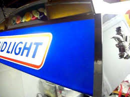 bud light pool table light bud light pool table light vintage 1984 anheiser busch youtube