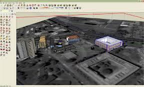 google sketchup modeling environment