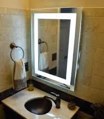 lighted bathroom wall mirror lighted bathroom wall mirror ideas plain our front lighted mirror