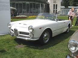 File Alfa Romeo 2000 Spider Touring Front View Jpg Wikimedia Commons