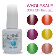 top quality soak off color domcco gelish led u0026 uv gel nail polish