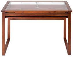 Glass Top Drafting Drawing Table Adjustable Craft Table U2013 Littlelakebaseball Com