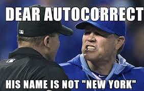 Autocorrect Meme - autocorrect v ned yost memebaseball
