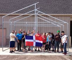 Flag Of The Dominican Republic Ggs Supports The Be World Ready Program With Greenhouse Donation