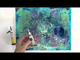 pebeo cerne relief paint how to with tristina youtube pebeo