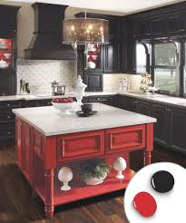Different Colored Kitchen Cabinets Surprising Painted Kitchen Cabinets Colors Pics Decoration Ideas