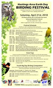 earth day birding festival carpenter nature center