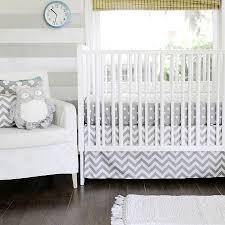 Gray Chevron Crib Bedding Gray Chevron Baby Bedding Chevron Crib Bedding Gray Nursery