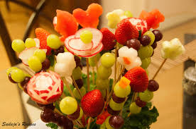 edible fruit arrangements sailaja s recipes diy fruit bouquet edible arrangements