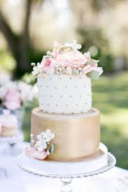 pink and gold spring wedding cake wedding ideas for you