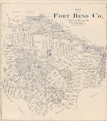 Har Map Map Of Fort Bend Co The Portal To Texas History