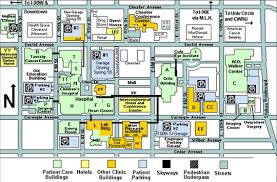 map of cleveland clinic parking consultants desman our work transportation studies