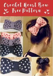 crochet hair bows best 25 crochet bow pattern ideas on crochet bows